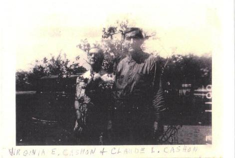 My great grandfather Claude Lee Cashon