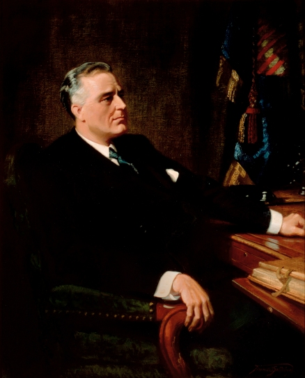 Franklin Roosevelt, Wikimedia Commons