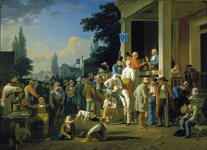 George Caleb Bingham - The County Election, Wikimedia Commons